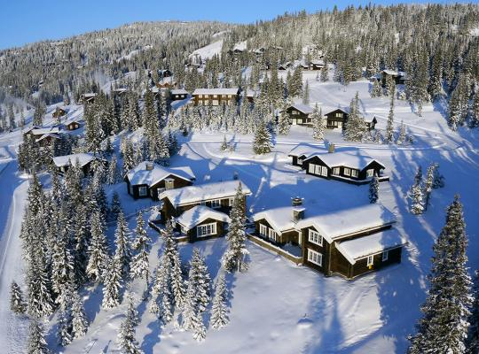 Large Chalets Kvitfjell skiing Norway